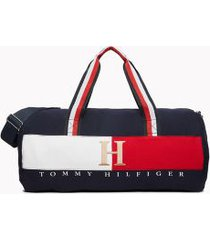 tommy hilfiger men's classic duffle bag navy/white/red -