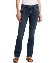 silver jeans co. avery curvy-fit bootcut jeans