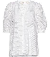 debbyiw blouse blouses short-sleeved wit inwear