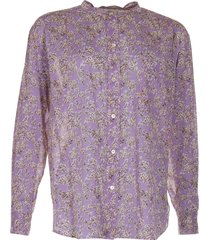 isabel marant blouse mexika paars