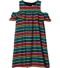 sonia rykiel enfant multicolored striped dress