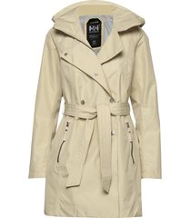 w welsey ii trench parkas rock beige helly hansen