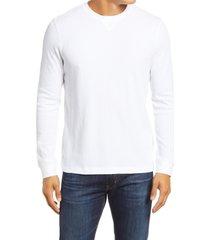 men's 1901 thermal crewneck sweatshirt, size xxx-large - white