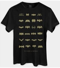 camiseta dc comics batman 75 anos s collection bandup!