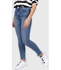 jean azul levis 721 hi rise skinny ankle