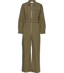 adalinegz jumpsuit ms20 jumpsuit groen gestuz