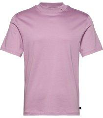 ace mock neck t-shirt t-shirts short-sleeved rosa j. lindeberg