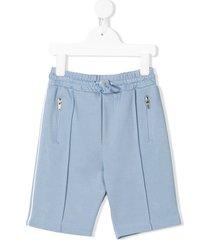 raspberry plum tatum drawstring shorts - blue
