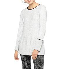 women's nic+zoe full swing sweater, size x-large - grey