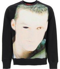 032c crewneck sweatshirt with debut print