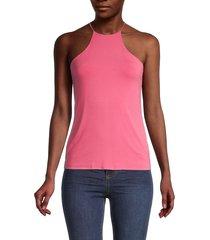 bailey 44 women's renee halter top - pink - size l