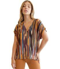 blusa cristina multicolor racaventura