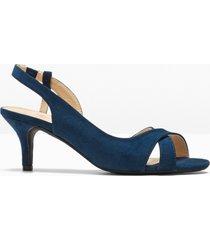 sandali con tacco (blu) - bpc selection
