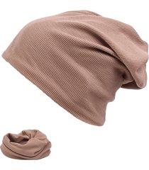 berretto in cotone morbido traspirante per uomo cappello autunno tempo libero cappuccio a doppia testa caldo