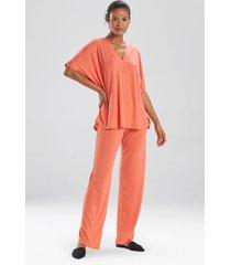 congo dolman pajamas, women's, beige, size l, n natori