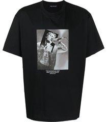 neil barrett the rockstar god loose-fit t-shirt - black