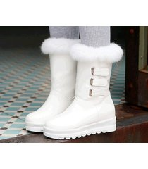 pb183 awesome pointy wedge booties, hair top,, us size 4-10.5, white
