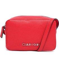 cartera mini rojo calvin klein
