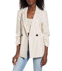 women's vero moda nellilaja stripe blazer