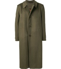 a.n.g.e.l.o. vintage cult 1990 long coat - green