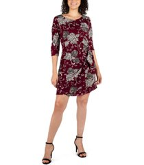 robbie bee petite paisley-print sarong dress