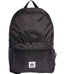 mochila negra adidas originals packable 24l