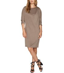 b new york conscious draped dress