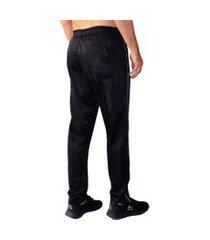 calça esporte ks tecido agasalho cós de elástico bolso traseiro 0357