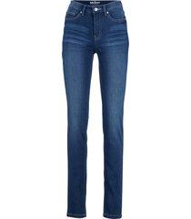 jeans elasticizzati ultra morbidi slim (blu) - john baner jeanswear