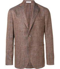boglioli formal blazer - brown