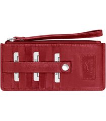 mancini casablanca collection rfid secure ladies wristlet