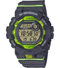 g-shock men's gray resin strap watch 46.6mm