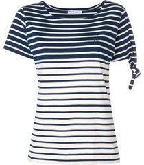 stripe knot t-shirt