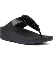 fitflop fino sequin thong sandals women's shoes
