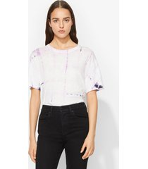 proenza schouler tie dye t-shirt lav/white/blk/pink s