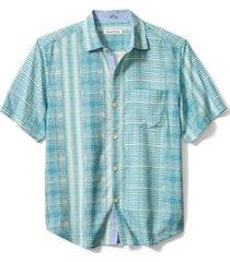 tommy bahama men's bay street blues shirt