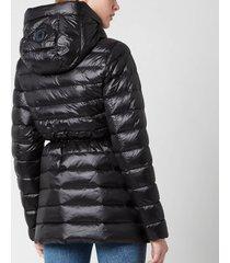 mackage women's ivy coat - black - l