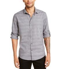 alfani men's linear dobby shirt, created for macy's