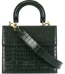 0711 bea satchel tote - green