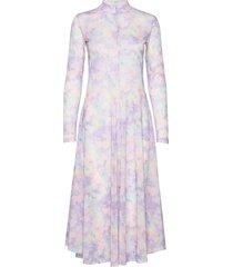 rita dress maxiklänning festklänning lila résumé
