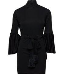 natalia dress kort klänning svart mother of pearl