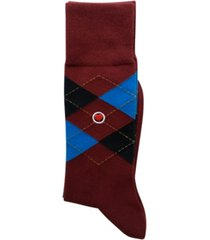 love sock company men's casual socks - argyle