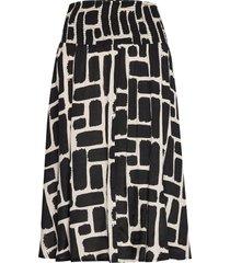 sondra knälång kjol svart masai