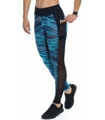 calça legging estampa kalini beachwear sublime feminina - feminino