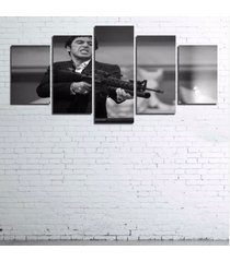 5 panels black white scarface canvas prints painting wall art picture home décor