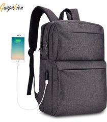 mochila/ men male backpack student school bag-negro