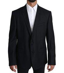 patterned wool martini blazer