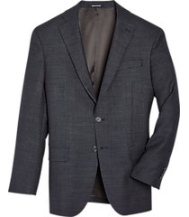 awearness kenneth cole brown check slim fit sport coat