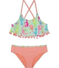 bikini vuelos uv30 naranja h2o wear
