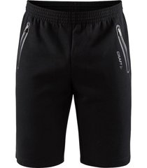 craft emotion sweatshorts men 042063 zwart